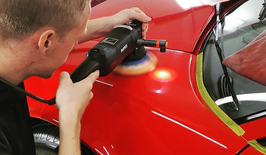QUALIFIED COATING TECHNICIANS WORK ON YOUR CAR